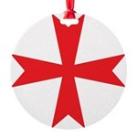Templars maltese cross Ornament