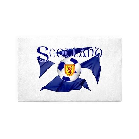 Scotland football flag 3'x5' Area Rug