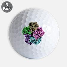 Golf Ball - Shiga-like toxin I subunit molecule