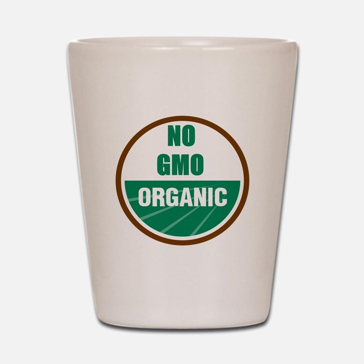 No Gmo Organic Shot Glass