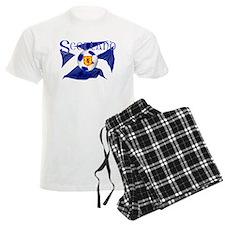 Scotland football flag pajamas