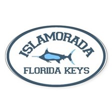 Islamorada - Fishing Design. Decal