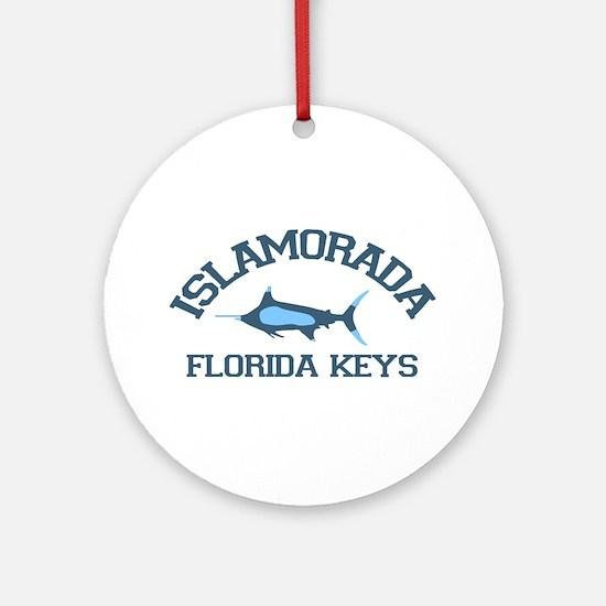 Islamorada - Fishing Design. Ornament (Round)