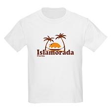 Islamorada - Palm Trees Design. T-Shirt