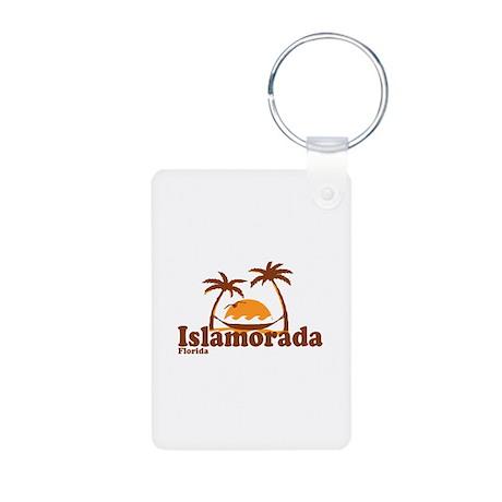Islamorada - Palm Trees Design. Aluminum Photo Key
