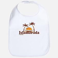 Islamorada - Palm Trees Design. Bib
