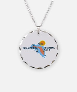 Islamorada - Map Design. Necklace