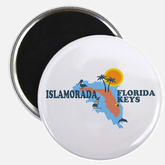 Islamorada - Map Design. Magnet