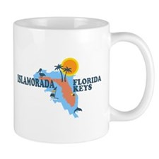 Islamorada - Map Design. Mug