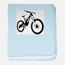 Mountain Bike baby blanket