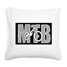MTB Square Canvas Pillow