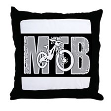 MTB Throw Pillow