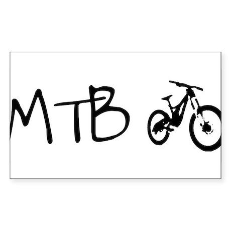 MTB Sticker