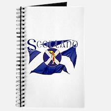 Scotland golf flag Journal