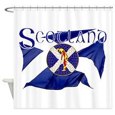 Scotland golf flag Shower Curtain
