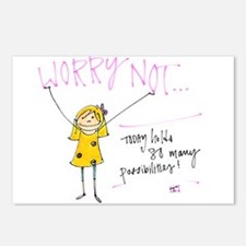 Worry Not Postcards (Package of 8)