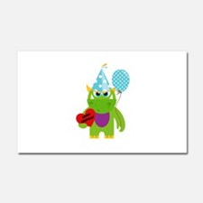 Birthday Monster Car Magnet 20 x 12