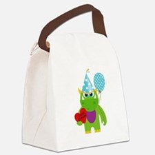 Birthday Monster Canvas Lunch Bag