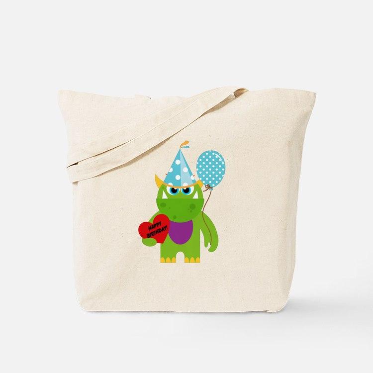 Birthday Monster Tote Bag