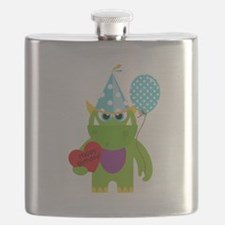 Birthday Monster Flask