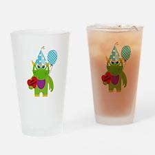 Birthday Monster Drinking Glass