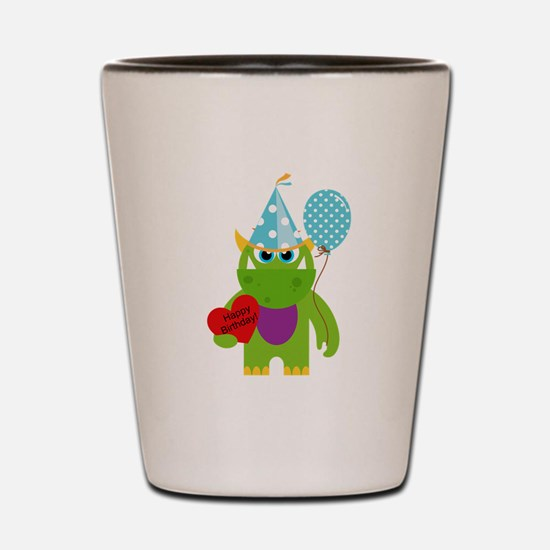 Birthday Monster Shot Glass