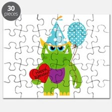 Birthday Monster Puzzle