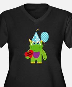 Birthday Monster Plus Size T-Shirt