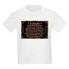 Balanced Marble Wiccan Rede T-Shirt