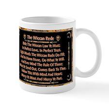 Balanced Marble Wiccan Rede Mug