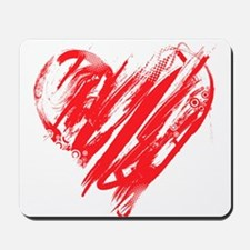 Scribbled Heart Mousepad