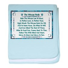 Balanced Water Wiccan Rede baby blanket
