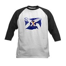 Scotland golf flag Baseball Jersey