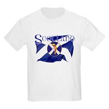 Scotland golf flag T-Shirt