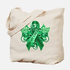 I Wear Green for my Uncle Tote Bag