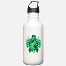 I Wear Green for my Uncle Water Bottle