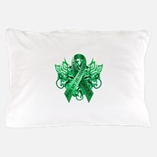 I Wear Green for my Husband Pillow Case