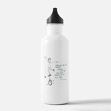 Keep Learning Water Bottle