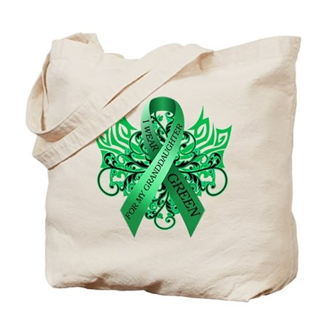 I Wear Green for my Granddaughter Tote Bag
