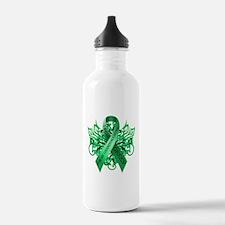 I Wear Green for my Granddaughter Water Bottle