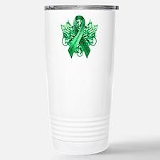 I Wear Green for my Granddaughter Travel Mug