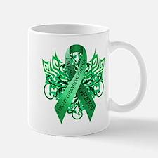 I Wear Green for my Granddaughter Mug