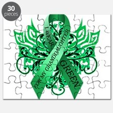I Wear Green for my Granddaughter Puzzle