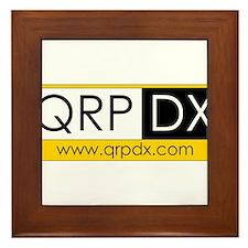 QRP DX Framed Tile