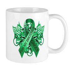 I Wear Green for my Brother Mug
