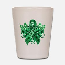 I Wear Green for my Wife Shot Glass