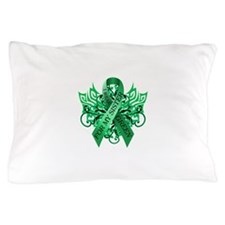 I Wear Green for my Sister Pillow Case