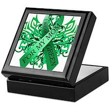 I Wear Green for my Mom Keepsake Box