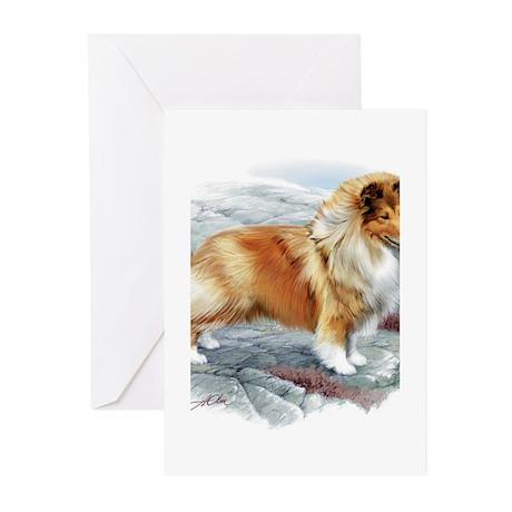 Shetland Sheepdog Greeting Cards