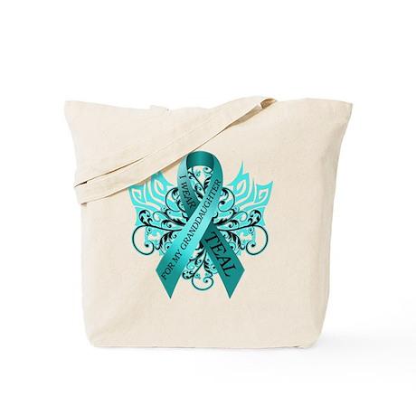I Wear Teal Tote Bag